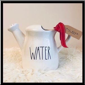 Rae Dunn WATER Watering Can